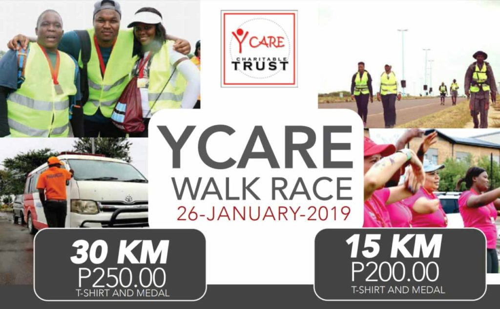 Y Care Charity WALKRACE 2019